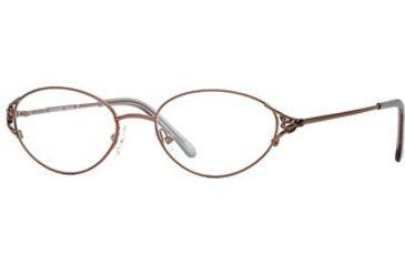 Calligraphy Collections Wharton SESC WHAR00 Progressive Prescription Eyeglasses - Brown SESC WHAR005440 BN
