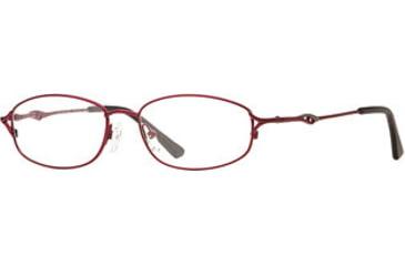 Calligraphy Collections Woolf SESC WOOL00 Single Vision Prescription Eyewear - Burgundy SESC WOOL005235 BUR