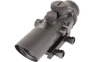 SigTac Compact Prismatic Rifle Scope 3x Illuminated Reticle Red/Green BDC 110067