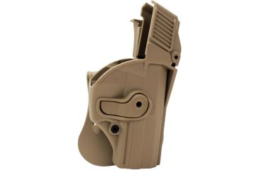 SigTac Retention Roto Paddle Holster, USP Compact 9/40, Level 3, Tan 110140