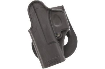 SigTac Standard Paddle Holster, All Glock 9mm/40/357 Black, Left Hand 110088