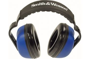 Silencio Blue Earmuffs w/Smith & Wesson Logo 3012157