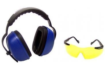 Silencio Glasses w/Spherical Lens & Suppressor Earmuffs w/Smith & Wesson Lo 3011730