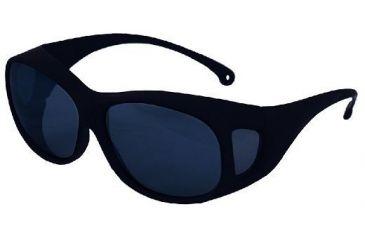 Silencio Safety Glasses w/Black Frame & Smoke Lens 3015023