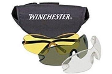1-Silencio Winchester Glasses w/Smoke/Yellow/Clear Lens 3014954