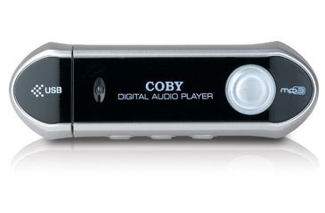 Coby 128MB MP3/WMA Digital Music Player & USB Flash Drive MP-C827