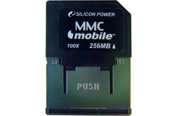 Silicon Power MMC Mobile Flash Memory Cards SP512MBMMM100V10