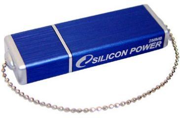 Silicon Power ULTIMA II Blue, Chain USB Flash Drive - 512MB / 1GB / 2GB / 4GB