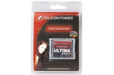 Silicon Power Ultima 45x 2GB CompactFlash Card