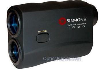 Simmons 1000 Yardage Master Laser Range Finder 801446 w/ Speed Gun function