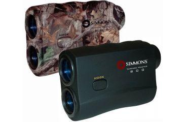 Simmons 800 Range Finder Yardage Master Laser Rangefinders w/ Speed Gun - Black 801445