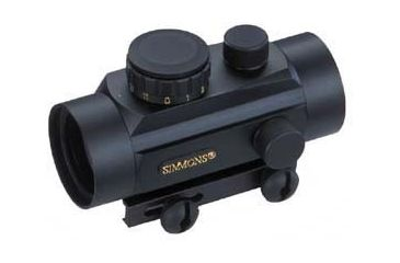 1-Simmons Red Dot Scope 30mm Electronic Sight with Universal Mounting Rail 800879