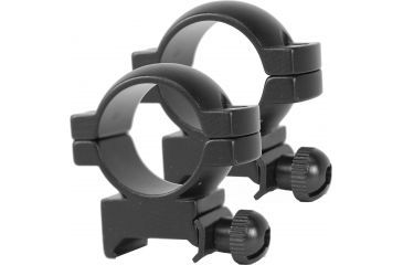 Simmons Riflescope 1in Rings, High, Matte Black 49172