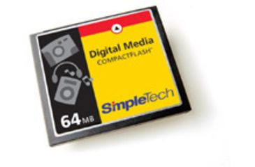 SimpleTech Compact Flash 64MB Card
