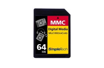 SimpleTech MultiMediaCard (MMC) 64MB