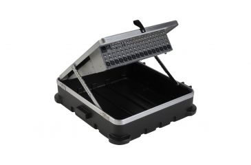 SKB Cases 12U Pop-Up Rackmount ATA Mixer Case - 12 units, 20 High 1SKB19-P12