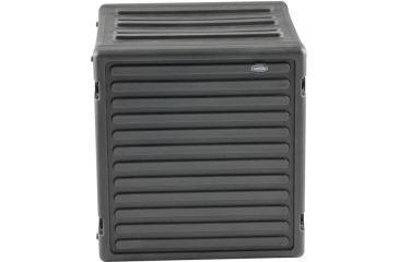 SKB Cases 12U Space Roto Molded Rack, Black, 25 in. X 24 in. X 24 in. 1SKB-R12U