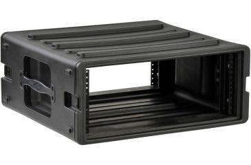 SKB Cases 4U Space Roto Molded Rack, Black, 24 in. X 23 in. X 10 in. 1SKB-R4U