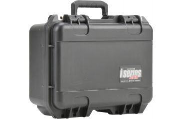 SKB Cases iSeries 1309-6 Waterproof Utility Case w/ padded dividers, Black, 14 7/8 x 12 x 7 3/8 3i-1309-6B-D