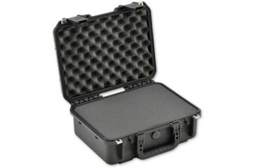 SKB Cases iSeries 1510-6 Waterproof Utility Case w/ layered foam, Black, 17 x 13 1/2 x 7 1/2 3i-1510-6B-L