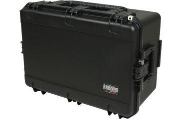 SKB Cases iSeries 2617-12 Waterproof Utility Case w/padded dividers, Black, 21 1/4 x 13 13/16 x 28 3/4 3i-2617-12BD
