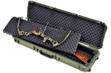 SKB Cases iSeries 5014 Double Bow Case, Olive Drab, 54X17 1/2X7 3i-5014-DB-M