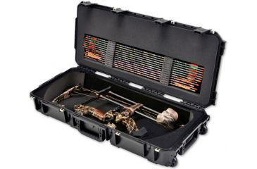 SKB Cases iSeries Parallel Limb Bow Case w/ Foam and Wheels, Tan 3i-3614-PL-T