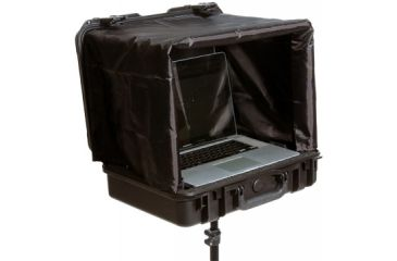 SKB Cases iSeries Waterproof Laptop Case w/ Sunshade, and Tripod Mount, Black 3I-18135SNSC