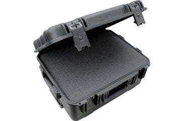 SKB Cases Mil-Std Waterproof Case 8in. Deep w/ wheels and pull handle - cubed foam