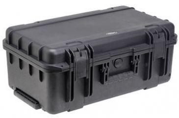 SKB Cases Mil-Std Waterproof Case 7in. Deep w/ cubed foam, wheels and pull handle 20-1/2 x 11-1/2 x 7-1/2 3I-2011-7B-C