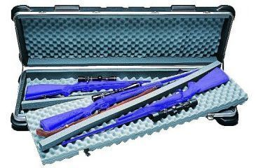 SKB Cases SKB Four Gun Rifle Case w/Wheels 2SKB5014