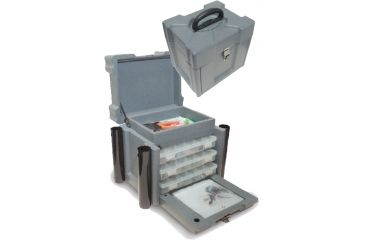 "SKB Cases SKB Tackle Box 7000, Gray, 13 5/16"" x 10 3/4"" x 12 5/8"" 2SKB-7000"