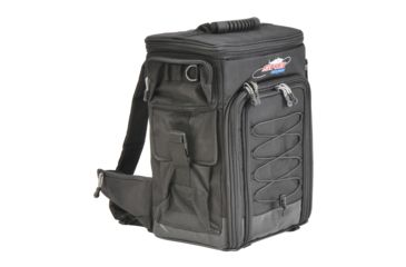 1-SKB Cases Stream-Tek Tak-Pak Fishing Backpack - Black