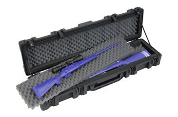 SKB Roto Military Standard ATA Double Weapons Case with Wheels, Black 2R52127B, Rifle / Shotgun Cases