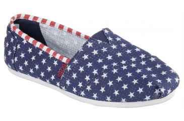 be984a1eaa40 Skechers Bobs Plush Summer Sunset Casual Shoe - Women s-Navy White-Medium-
