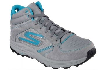 5e433506d25a Skechers GoTrail Hiking Boot - Women s-Charcoal Turquoise-Medium-6.5