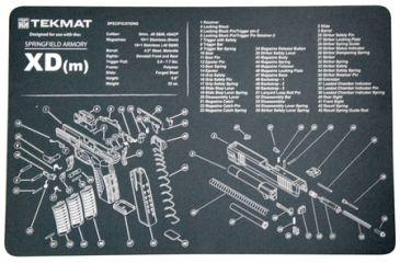 1-Slip 2000 Blueprint Gun Cleaning Mat 11x17 Inches For Springfield XDM MAT-XDM