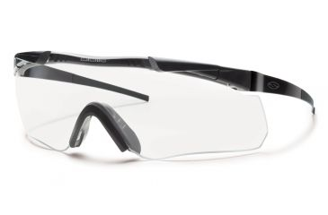 Smith Elite Aegis Echo Asian Fit Eyeshields, Black Frame, Clear/Gray/Yellow Lens AECHABK12A-3R