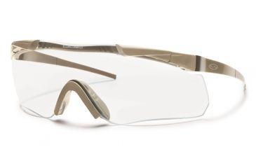 Smith Elite Aegis Echo Asian Fit Eyeshields, Tan 499 Frame, Clear/Gray/Yellow Lens AECHAT49912A-3R