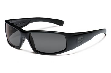 Smith Elite Hideout Tactical Sunglasses with Black Frames and Gray Lenses HDTPCGY22BK