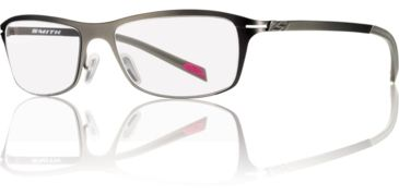 Smith Optics Emery Single Vision Prescription Sunglasses - Dark Ruthenium Frame EMERY-R80SV