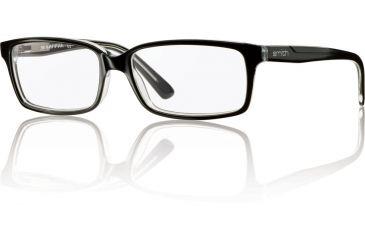 Smith Optics Playlist Single Vision Prescription Sunglasses - Black Crystal Frame PLAYLIST-7C5SV