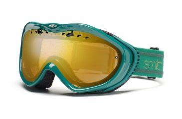Smith Anthem Goggles, Emerald Bristol, Gold Sensor Mirror AN6GMEB11