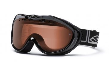 Smith Optics Anthem Ski Goggles - Black Foundation - Polar Rose Copper lens