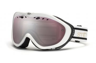 Smith Anthem Goggles, White/Black Bristol, Ignitor Mirror AN6IKB11