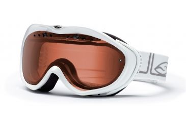 Smith Anthem Goggles, White Foundation, Polarized Rose Copper AN6EPFW10