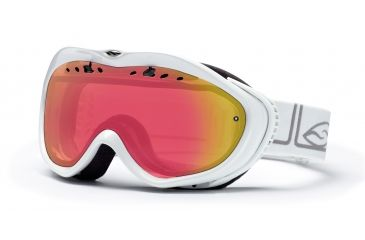 Smith Anthem Goggles, White Foundation, Red Sensor Mirror AN6RZFW10
