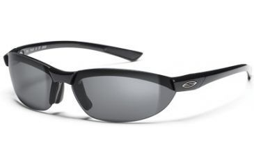 Smith Optics Baseline Round Sunglasses - Black Frames, Polarized Gray Lenses