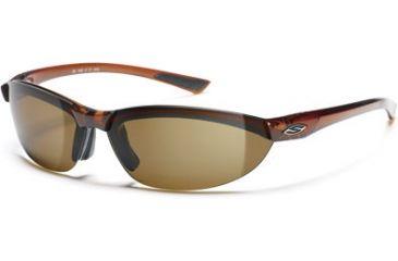 Smith Optics Baseline Round Sunglasses - Dark Ale Frames, Polarized Brown Lenses