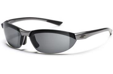 Smith Optics Baseline Round Sunglasses - Steel Frames, Polarized Gray Lenses